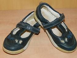 Кожаные туфли Clarks 16,5.