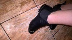 Фирменные кожаные ботинки respect