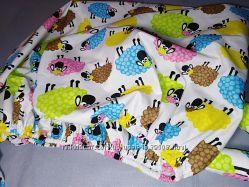 Різні тканини Простирадло на  резинці у дитяче ліжечко.