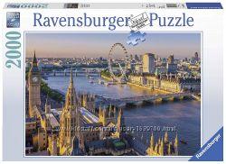 Ravensburger 16627 Пазл Атмосферный Лондон 2000 шт Оригинал
