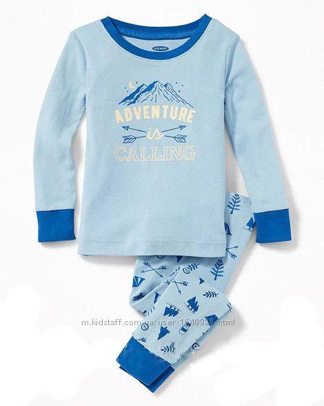 Детская хлопковая пижама old navy