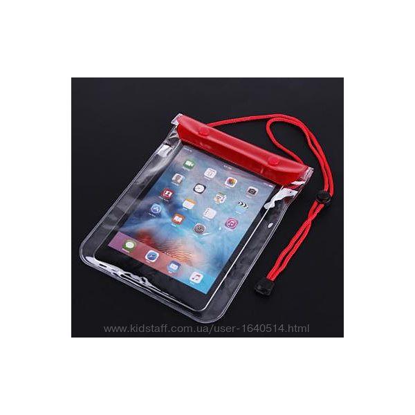 Прозрачный водонепроницаемый чехол сумка для телефона, планшета, документов