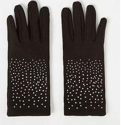 Перчатки флис с сенсорными пальчиками фирма george