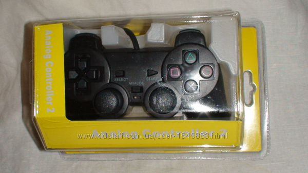 Sony PlayStation Джойстик к  PS2 Новый- Рабочий