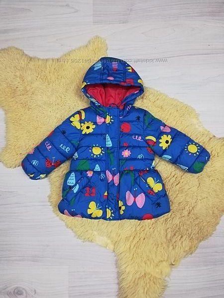 Яркая куртка M&S на 12-18 месяцев