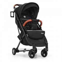 Детская прогулочная коляска Yoga II на алюминиевой раме, M 3910-1 черный