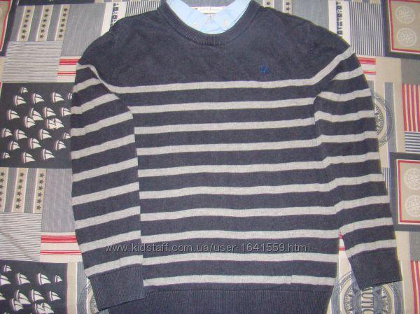 свитер обманка с рубашкой jasper conran