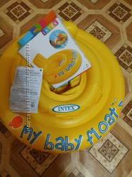 Надувной круг my baby float