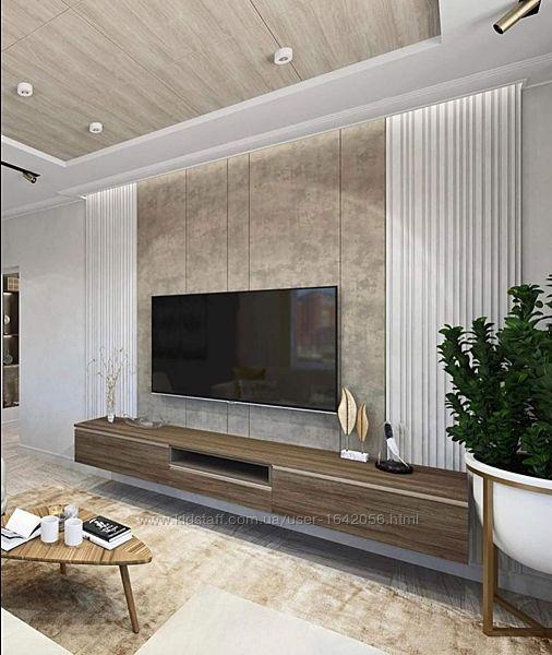 Гипсовые стеновые 3д панели Баркод Размер50х50см