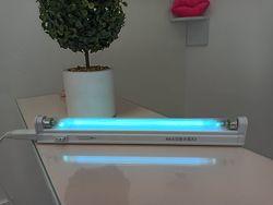 Бактерицидная лампа ультрафиолетовая обеззараживающая 2 в 1.
