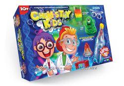 Наборы для опытов Chemisty Kids - 10 экспериментов Опыты 10 шт