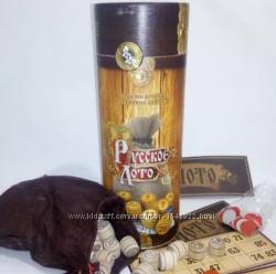 Настольная игра Русское лото в тубусе Danko Toys
