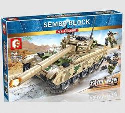 Конструктор Sembo 105562  Боевой танк VT-4 432 детали