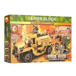 Конструктор Sembo 101302 Военный транспорт 284 детали