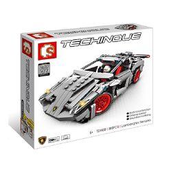 Конструктор Sembo 701400 Аналог Technic Lamborghini Venano 369 деталей