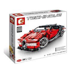 Конструктор Sembo 701401 Аналог Technic 42083 Bugatti Chiron 422 детали