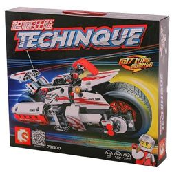 Конструктор Sembo 701500 Аналог Technic Мотоцикл 392 детали