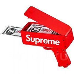 Денежный пистолет Supreme Money Gun для стрельби деньгами топ цена