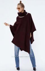 Пальто накидка пончо свитер zara, размер s