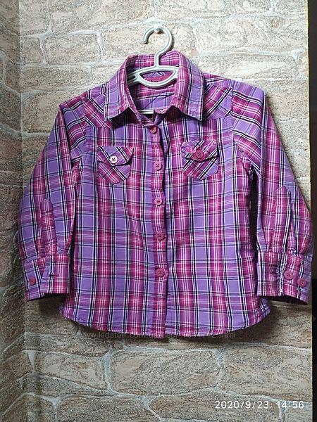 Рубашечка стильная на девочку 92 размер