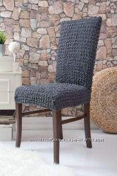 Универсальные чехлы на стулья - упаковка 6 штук Турция