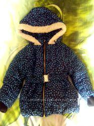 Куртка зимняя на девочку, размер 86