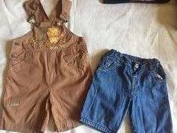 Пакет одежды на мальчика от 1-3 лет, б/у