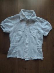 Красивая блузочка с узорами для девочки