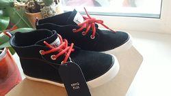 Замшевые ботинки Mango