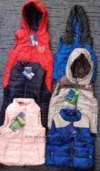 Жилет Lupilu детские теплые жилеты жилетки безрукавка от 1 до 14 лет