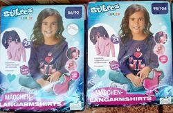 Набор Lupilu 2шт кофта, реглан, лонгслив, свитшот для девочки 1,5-4 года