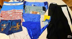 Пляжные плавки и шорты на мальчиков и юношей от 3 до 16 лет.