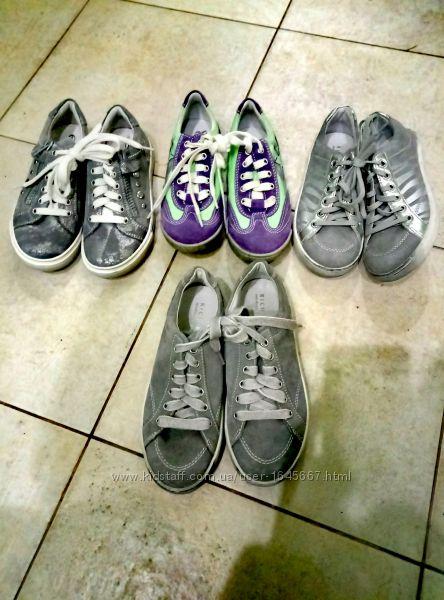 Детские  ботинки , кроссовки, кеды - нат. кожаная обувь Richter Австрия