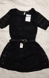 Нарядное гипюровое платье Франция на 140-158см