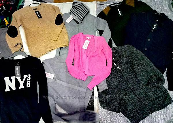Вязаные немецкие кофты, свитера, платья, шапки, рукавицы розница и опт