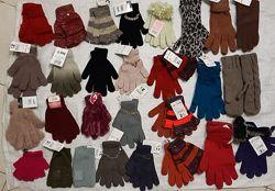 Перчатки, варежки, митенки на школьников и взрослых