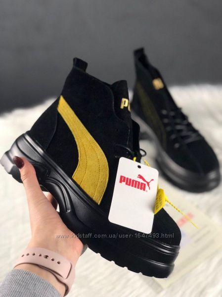 Ботинки женские демисезонные puma spring boots