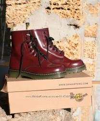 Кожаные ботинки dr. martens classic boots red доктор Мартинс