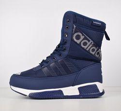 Сапожки женские зимние дутики Adidas