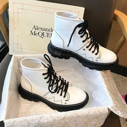 Ботинки демисезонные McQueen Ankle Boots