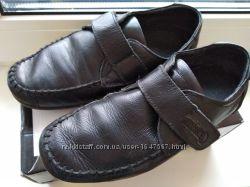 Туфли мокасины кожаные 31 размер, стелька 20 см