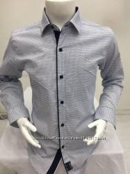 Брендовая рубашка  AND 10-15 лет, кнопка