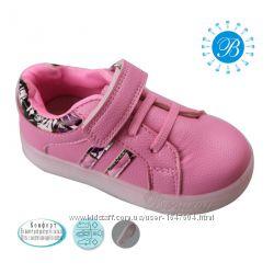 Кроссовки для девочек tom. m boyang, светящаяся подошва, качество отличное