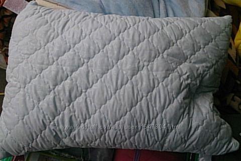 стеганая подушка 70-70 , 50-70 с замком фабрика Ода холлофайбер