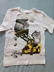 Новая футболка 4-6 лет