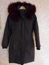 Пальто куртка женская нат. оч. тёплый пуховик