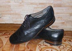 Туфли броги Clarks натуральная кожа. Размер 44