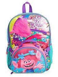 Детский школьный рюкзак с ланчбоксом Тролли  Dreamworks Trolls США