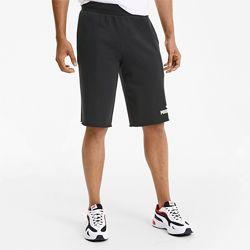Черные мужские шорты из терри-флиса махра Пума PUMA Размер XL L  Оригинал