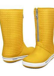 Утепленные желтые сапоги Крокс Crocs Winter Boot Оригинал Размер  W4 20,7c